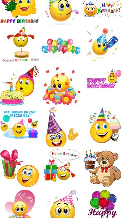 Birthday Emoticons