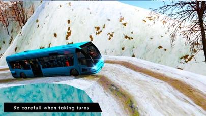 オフロードバスドライビングシミュレータ冬季のおすすめ画像1