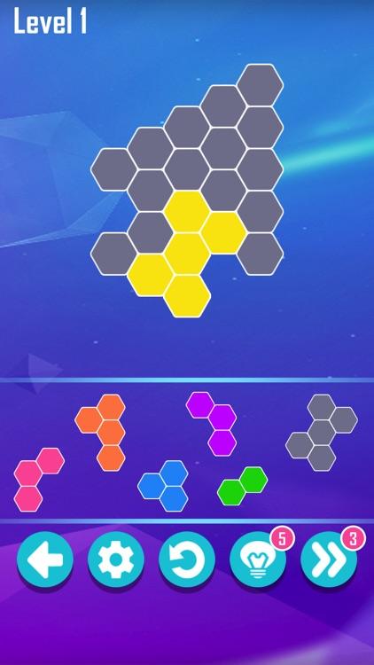 Hexa Block! Puzzle Master screenshot-3