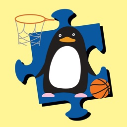 Cute Penguin of Jigsaw for Kids