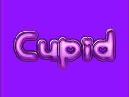 Cupid Word Stickers