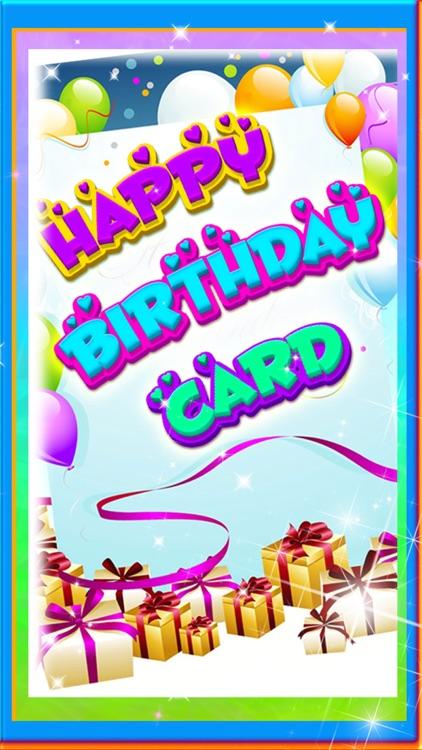 Happy Birthday Greeting Card Maker - Photo Frame screenshot-3