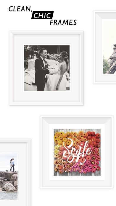 Screenshot #2 pour Photo Frames - White Frames for Pictures