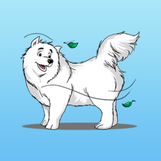 Husky Dog - Cute snow dog for iMessage