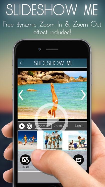 Slideshow Me- Free Slideshow Maker With Music Zoom