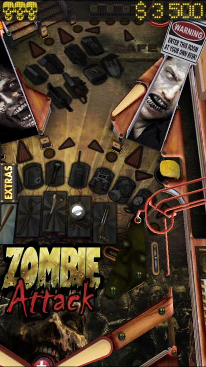 Zombie Attack Pinball HD: Monster Challenge screenshot-2