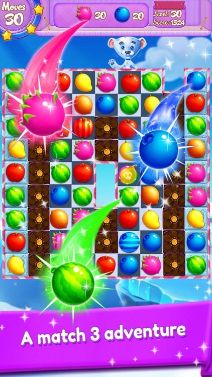 Candy Fruit Match 3