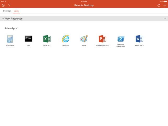 Microsoft Remote Desktop on the App Store