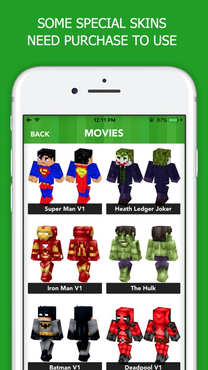 Boy Skins for Minecraft PE PC: MCPE Skin for Boys