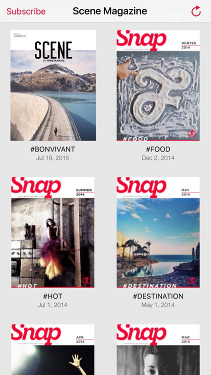 Scene Magazine by Hipstamatic