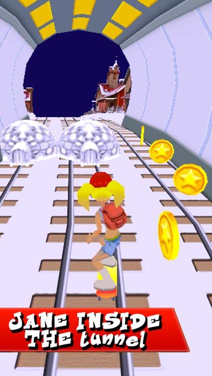 Subway Surf Arcade Endless Run - GO Skaters Rail screenshot-3
