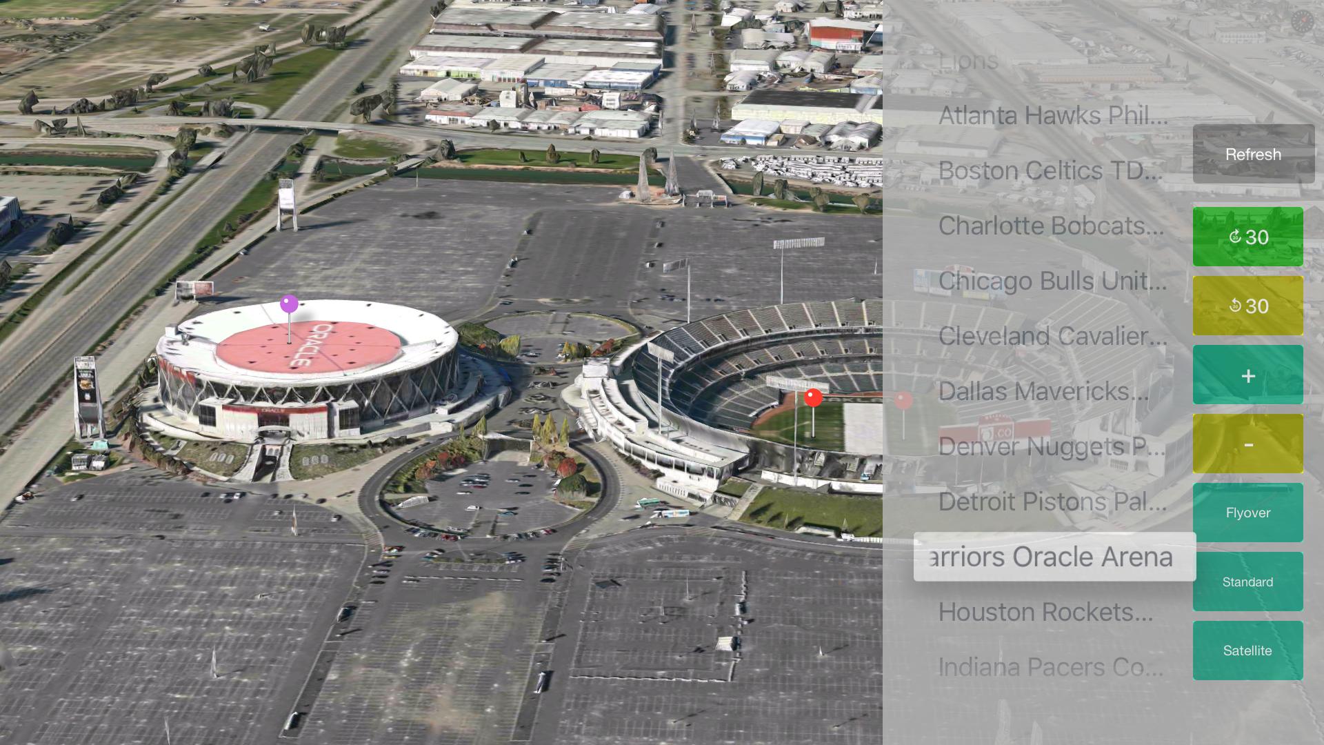 Sport Stadiums Pro - 3D Cities screenshot 25