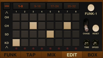 Funkbox Drum Machine review screenshots