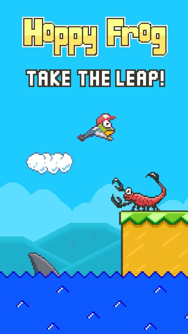 Hoppy Frog Screenshot