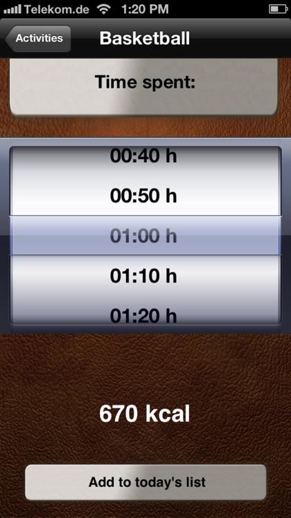 Calorie Calculator Pro screenshot-3