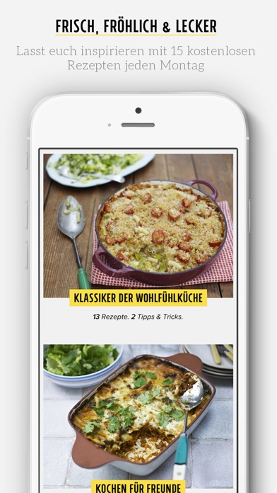 Screenshot for Jamie's Ultimate Recipes in Germany App Store