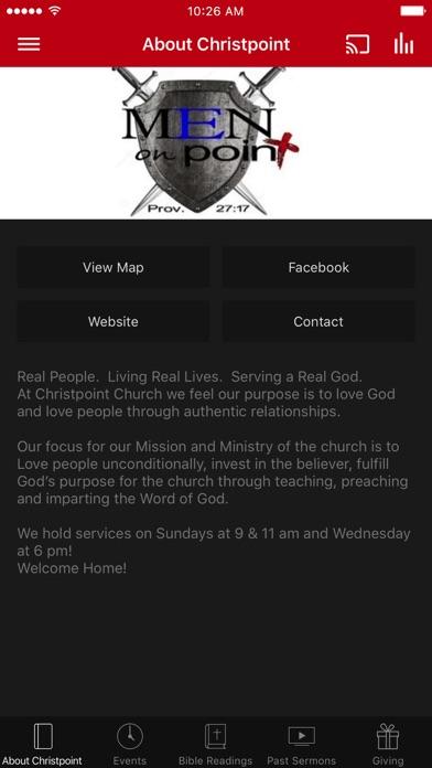 Christpoint Church of TN screenshot 1