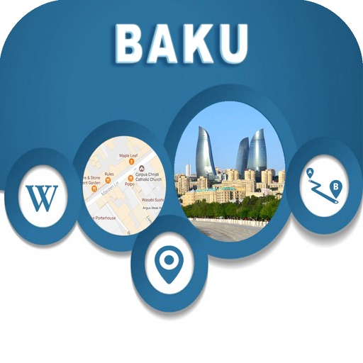 Baku Azerbaijan Offline Map Navigation GUIDE