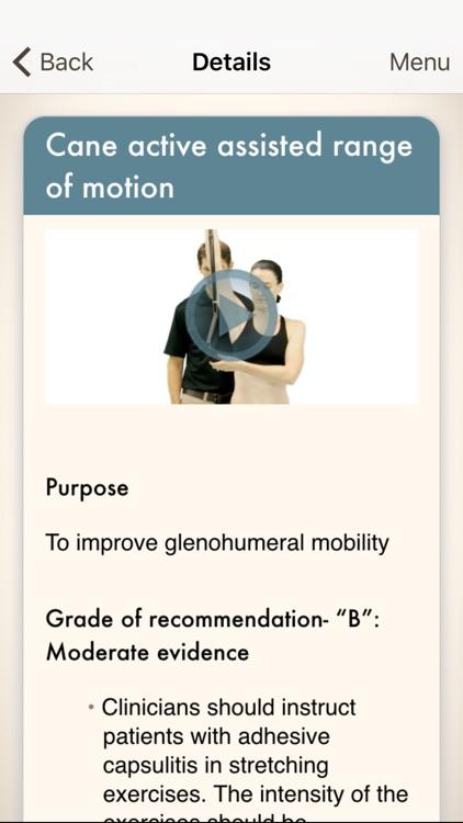 Clinical Pattern Recognition: Shoulder Pain screenshot-4