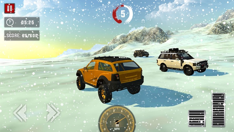 Real Snow Drift Racer screenshot-4