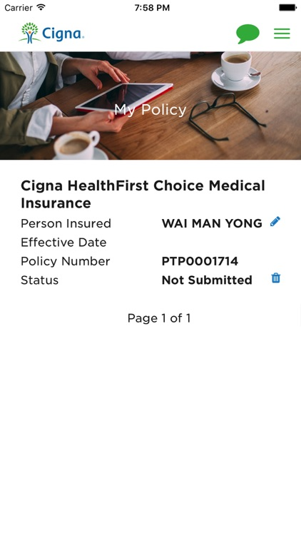 MyCigna HK screenshot-2
