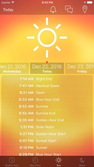 Golden Hour!