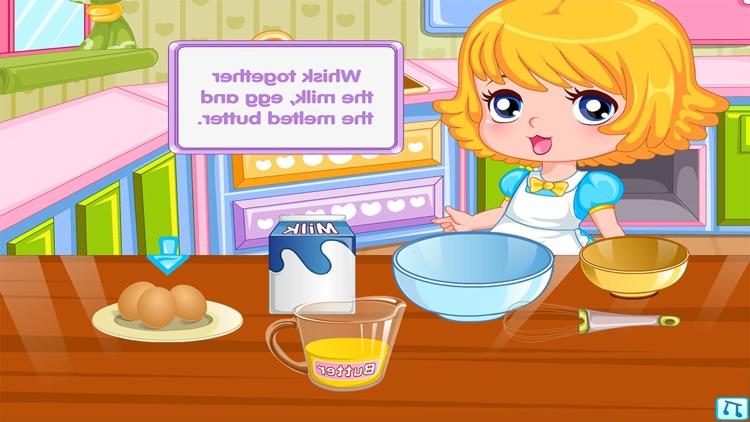 Dessert Pancakes Cake free Cooking games for girls screenshot-4