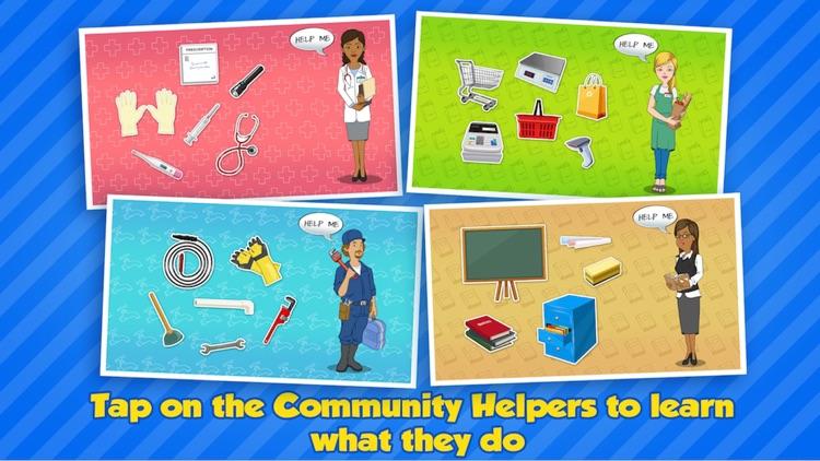 Community Helpers Play & Learn screenshot-4