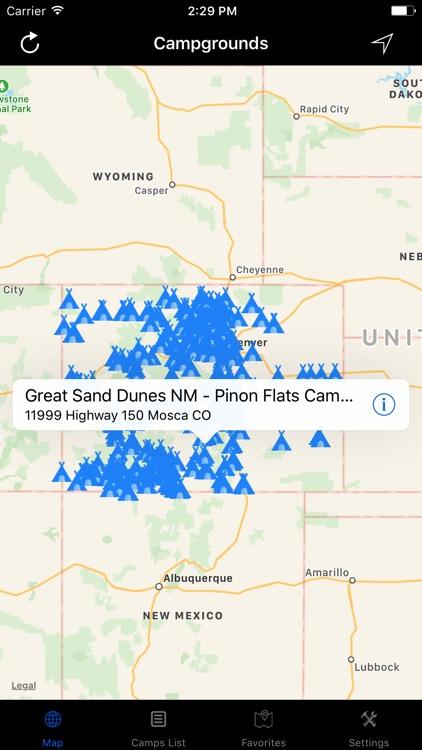 Colorado – Campgrounds & RV Parks