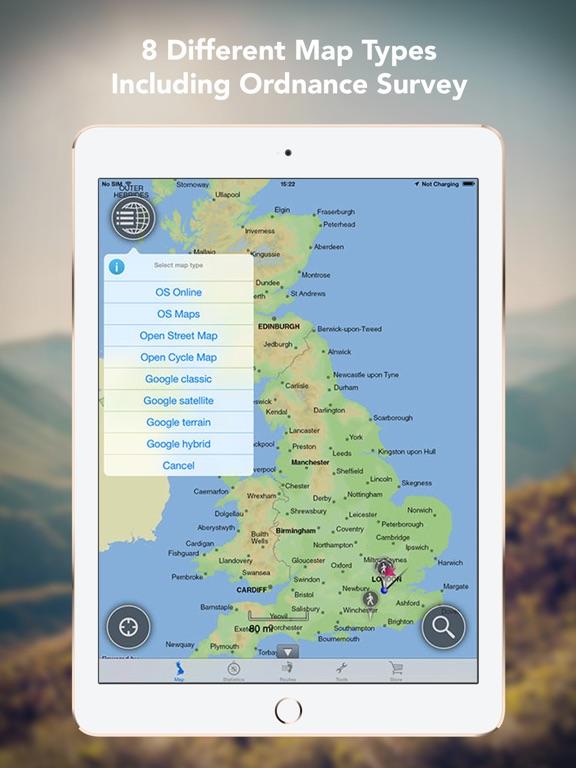 Outdoors GPS – Offline OS Maps Скриншоты9
