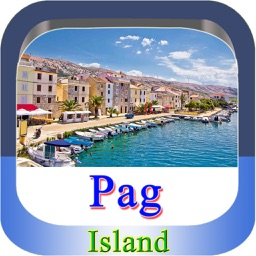 Pag Island Offline Map Guide
