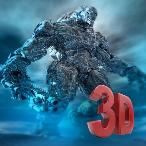 Quicksilver Robot Killer - Humanoid Hunter Rage 3D