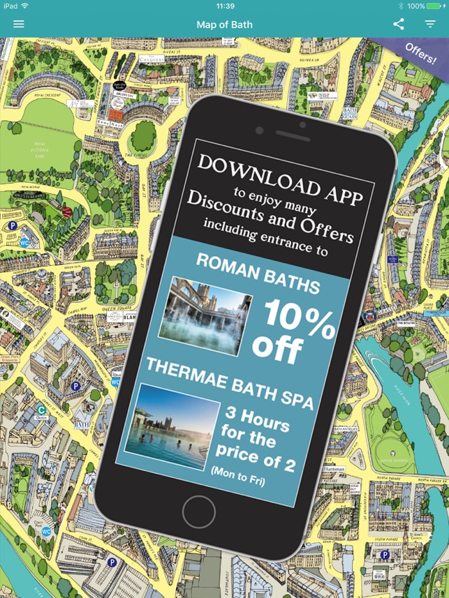 Bath Sussed Out Map on the