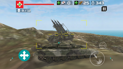 Tank Crusade T-90 : Battle Tank Simulator screenshot three
