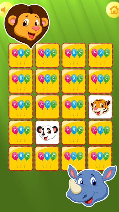 Zoo Animals Matching Puzzle Game for Kids screenshot four