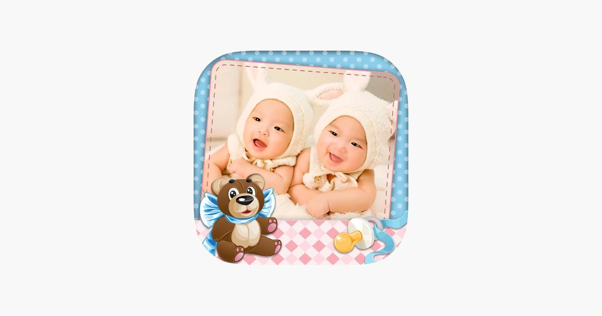 Baby-Bilderrahmen Foto-Collage im App Store