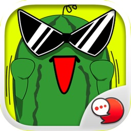 Melonman V.2 Emoji Stickers for iMessage
