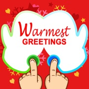 Warmest Greetings - Left and Right Drawing