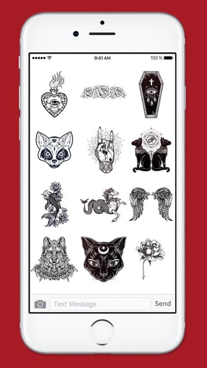 Retro Tattoo Art Sticker Pack screenshot-3