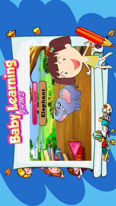 Baby learning educational games screenshot two