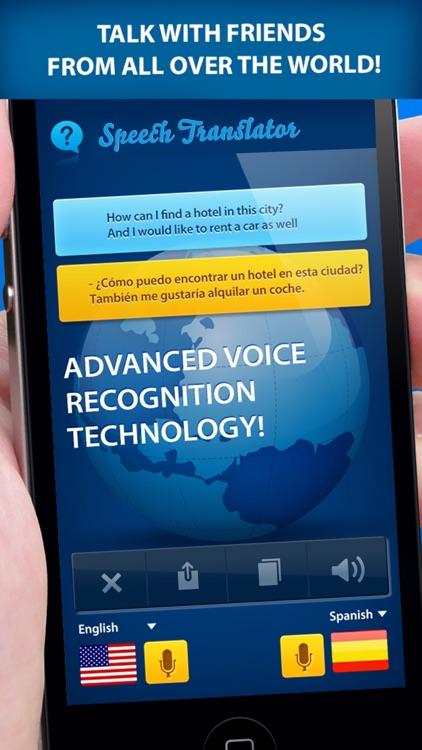 Speech Translator - Translate voice & text