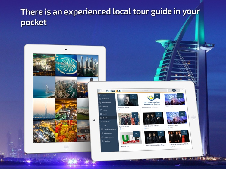 Dubai Travel Guide & offline city map
