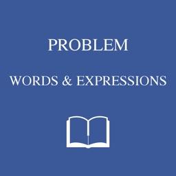 Problem words dictionary