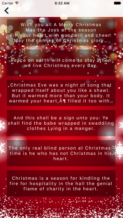 Christmas Messages (Quotes) 2016 screenshot two