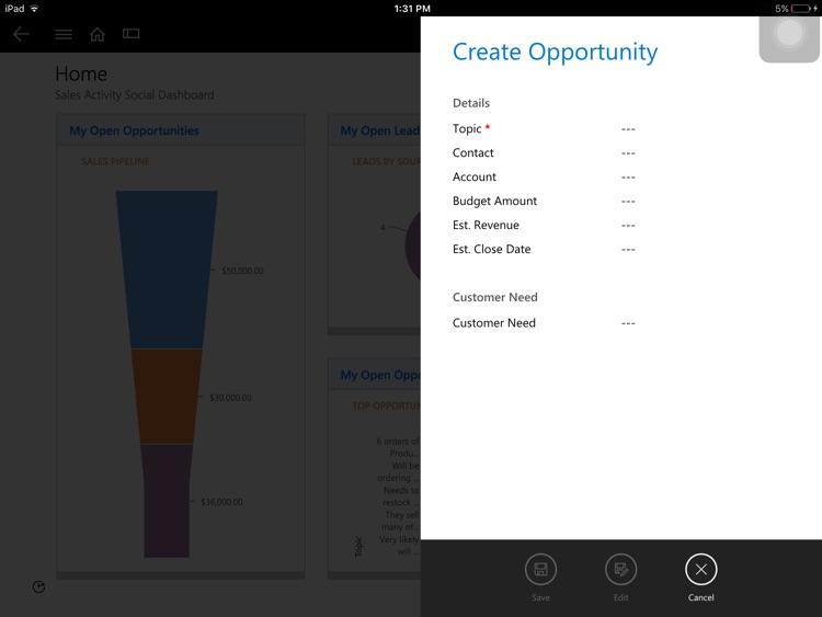 Microsoft Dynamics 365 screenshot-3