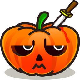 Halloween stickers by Cristian Moe