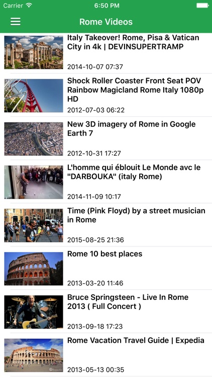 Italy & Rome News Today in English Pro screenshot-3