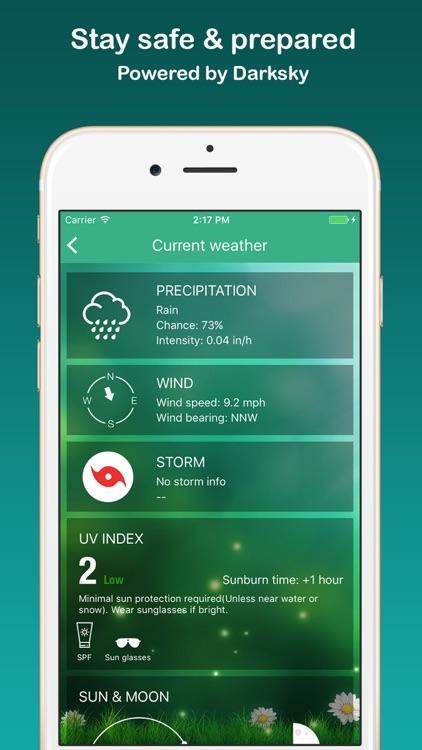 Weather Widget - Unique styles screenshot-3