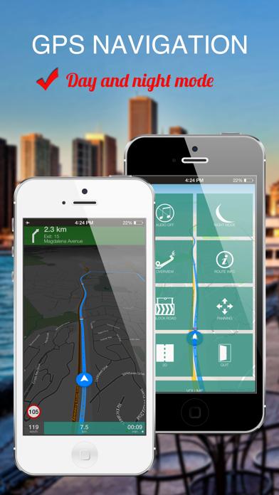Bangladesh : Offline GPS Navigation screenshot four