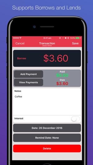 Cash Lender - IOU & Loans on the App Store